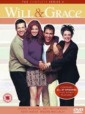 Will And Grace - Season 4 (DVD, 2006, Box Set) NEW-Sealed.