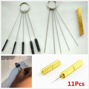 Windshield Spray Wiper Washer Nozzle Washer Cleaning Car Jet Needle Brush Tool