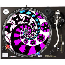 Portable Products Dj Turntable Slipmat 12 inch - Candy Pop Circle