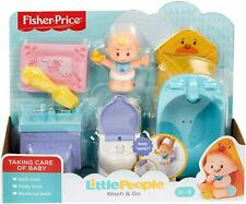 Fisher-Price Little People Wash & Go Playset