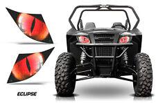 UTV Headlight Eye Graphics Kit Decal Cover For Arctic Cat Trail/Sport ECLIPSE R