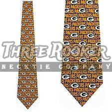 Packers Silk Tie Greenbay Packers Neckties NWT Licensed Mens Neck Ties