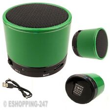 NEW BLUETOOTH WIRELESS MINI PORTABLE SPEAKER GREEN FOR SMARTPHONE IPAD MP3 MP4