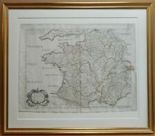 Galliae Antiquae Original Copperplate Map by Nicolas Sanson published Paris 1642
