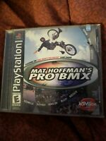 Mat Hoffman's Pro BMX for Playstation PS1 Complete Fast Shipping!