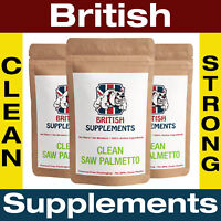 Saw Palmetto 4,050mg Veg Caps Prostate & Male Urinary Health British Supplements