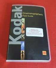 (1)  NEW  CINEMATOGRAPHERS  FIELD GUIDE -  BLACK  - 35mm, 16mm, Super8 & 8mm