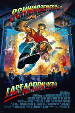 24X36Inch Art LAST ACTION HERO Movie Poster 1993 Arnold Schwarzenegger P54