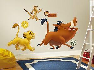 RoomMates König der Löwen Sticker Wand Deko Wandkleber Aufkleber