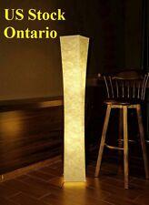 "52"" Bedroom SOFT LIGHTING Floor lamp Fabric shade Simple shape Warm atmosphere"