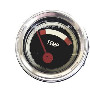 Temperaturanzeige Fernthermometer Ø52mm für Traktor John Deere Lanz 310 510 710
