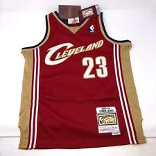 NWT Lebron James #23 Rookie Mitchell & Ness Hardwood Classic Jersey Youth Small