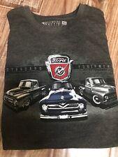 New Newport Blue Sz Med Standard Equipment Ford T-shirt Vintage Ford Trucks