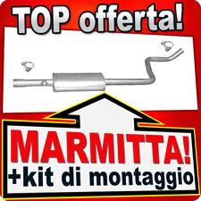Scarico MITSUBISHI COLT VI SMART FORFOUR 1.1 1.3 dal 2004 Marmitta UUA