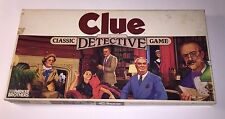 Clue Classic Detective Game Parker Brothers Complete Scarlet White Plum Mustard