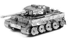 Metallo terra German Tiger 1 Tank 3d Laser Cut modello altamente dettagliato SECONDA GUERRA MONDIALE