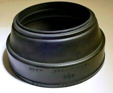 77mm screw in Mamiya Rubber Lens Hood Shade Sekor C 127mm f3.8 210mm f4.5 140mm
