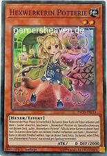 INCH-DE014 Hexwerkerin Potterie Super Rare YU-GI-OH! - 1. Auflage