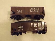(2) Ho L&N Dixie Line coal cars