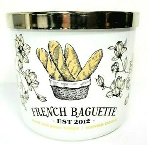 Bath & Body Works FRENCH BAGUETTE Scented 3 Wick Candle 14.5 oz New Fast Ship