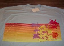 d0bcb3d0d Disney T Shirt S Mens Mickey Mouse Retro 80s Surf Muscle Fitted Disneyland