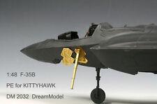 Dreammodel 1/48 2032 F-35B F-35 Update Detail PE for Kittyhawk