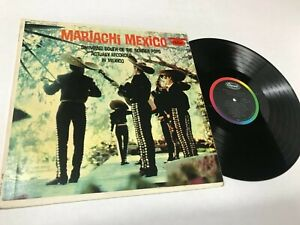 Mariachi Mexico Swinging South Border Latin Chicano Band Capitol Record Vinyl NM