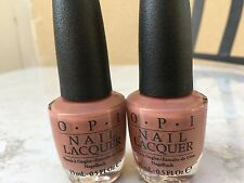 2 x OPI CHOCOLATE MOOSE (NL C89)
