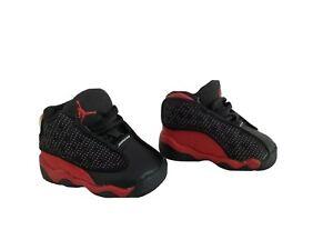 RARE Nike Air Jordan 13 Retro DIRTY BRED Toddler Size 3C Pre-Owned 414581-004