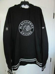 Fanatics Pro NHL Chicago Blackhawks Pullover Hoodie Black 3XL 3TG 3EG
