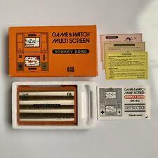 Vintage Nintendo Donkey Kong Game & Watch Boxed CGL
