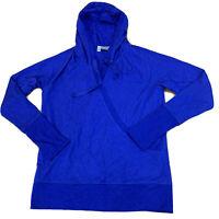 Athleta Womens Hoodie Sweetshirt Sweater Size Small Blue New NWOT B115