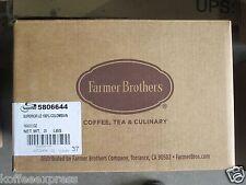 SUPERIOR COFFEE 100% COLOMBIAN  GROUND COFFEE 160 X 2oz BY FARMER BROS #6644