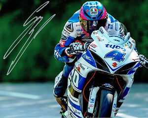 Guy Martin 2014 Signed 16 x 12 action shot picture & cert of authenticity
