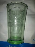 Vintage Upper Canada Brewing Company Green Beer Glasses embossed