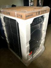 New Samsung FlexDry Dve60M9900V Electric Steam Dryer Black Stainless 7.5 Cu. Ft.