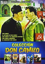 COFANETTO DVD - DON CAMILLO E PEPPONE-NUOVO! 5 DVD