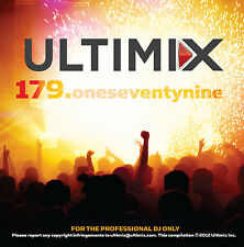 Ultimix 179 CD Ultimix Records Madonna Mary J. Blige Train Kelly Clarkson K Drew