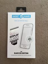 Gadget Guard (Black Ice) Cornice Curved Tempered Glass for Apple iPhone X