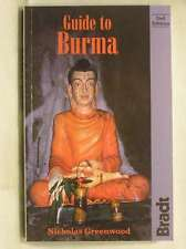Guide to Burma (Bradt Guides), Greenwood, Nicholas, Very Good Book