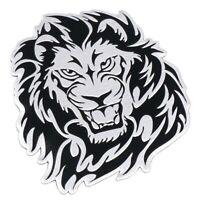 Löwe 3D Aufkleber Sticker Auto Motorrad Tuning Löwenkopf Emblem Chrom Tiger lion