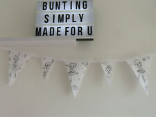 Ballet Bunting Ballerina Colour me in Bedroom Decor Party Fabric