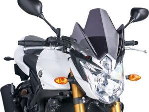 Puig Touring II Windscreen Bar Mount for 2013 Yamaha FZ8 Clear 5267W