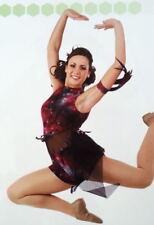 Shorts Contemporary Dance Costume Child 6X7 Bleeding Love Tie-Dye Girls