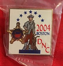 UNITED STATES SECRET SERVICE~BOSTON 2004 DEMOCRATIC CONVENTION LAPEL PIN~POLICE