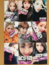 TWICE Korean Pop All Member Signed 9 Photos 4x6 Autographed USA SELLER SALE C3
