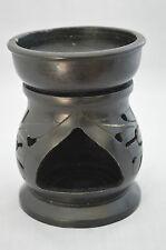Vintage Chinese Black Warmer Stove Censer Incense Burner #G