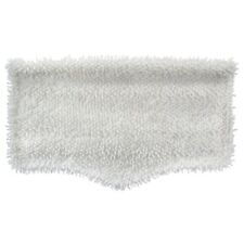 White Washable Microfiber Cleaning Pad Steam Mops Wood Hard Floor Cleaner Tool