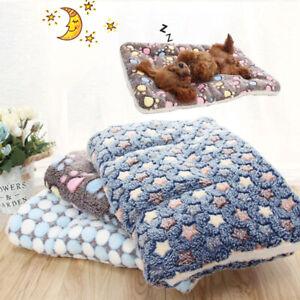 Pet Sofa Cushion Blanket Mat Fleece Pad Thickened Dog Cat Supplies Rug