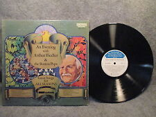 33 RPM LP Record An Evening w/ Arthur Fiedler & The Boston Pops FMS 1016-5 EXC